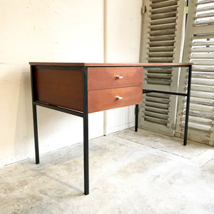 """Pierre Guariche"" Teak Writing Desk for Meurop 1960's ベルギー"