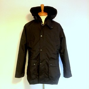 Bedale SL Hooded Black