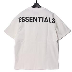 FOG - Fear Of God Essentials (フィアオブゴッド)ホワイト バックプリントロゴ Tシャツ カットソー(Sサイズ) r014633