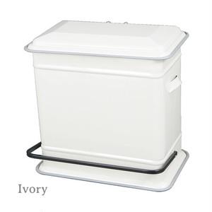 "【100-117】Step can ""Dual bucket"" ゴミ箱 / ポップ / アメリカン / インダストリアル"