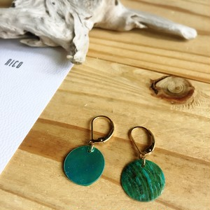 【14kgf】Turquoise05~サーフィン&ビーチピアス~