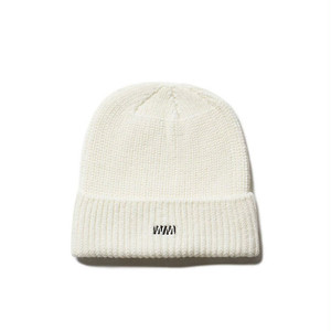 WM LOGO WATCH CAP - WHITE
