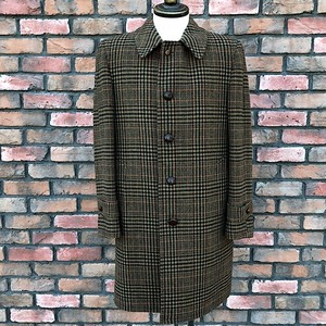1972 Harley Paris Cloth By Crombie Scotland Tweed Coat