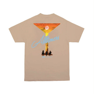 ALLTIMERS / 3 AMIGOS TEE -SAND-