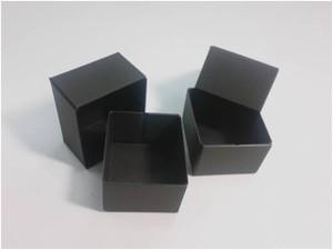 紙箱/ギフトボックス(極小-黒)6個入