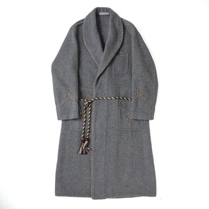 British shawl collar gown