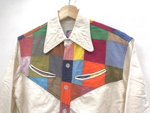【Harlan Mathews】Patchwork shirts