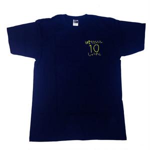 10周年Tシャツ ver.2(ネイビー)