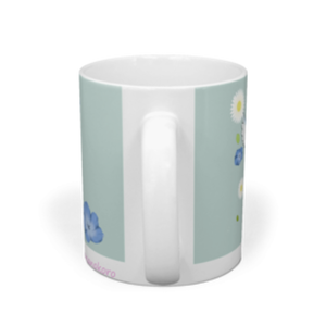 KAGE-P作「幸せブルー」・マグカップ・送料、税込み