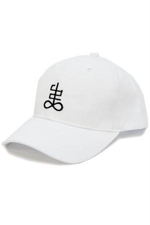 「弔」cap (White)