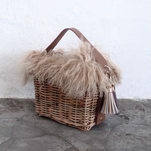 Fur - Rectangle #Brown