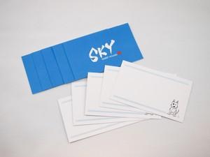 <ギフト用>SKY KYOTOオリジナルメッセージカード10枚セット