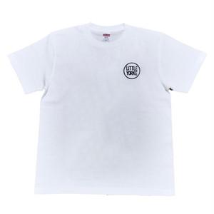 LY:Original T-Shirts ホワイトボディー (Back Print) ① 2019001BPW
