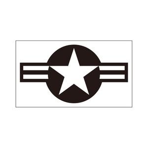 ミリタリーステッカー アメリカ国籍マーク