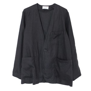 NO COLLAR SACK COAT(MARKAWARE)