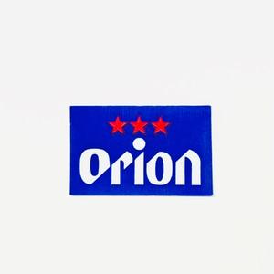 オリオンビール ステッカー 中 / rubodan ( ルボダーン )