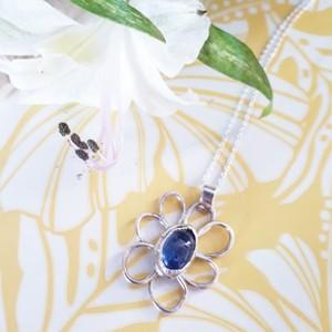 【silver925】kyanite necklace