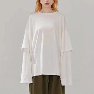 レイヤードコットン Tシャツ ET0003