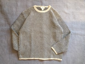 1990's Old Linen×Cotton Knit Sweater