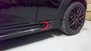 R56JCW サイドステップ用ステッカー