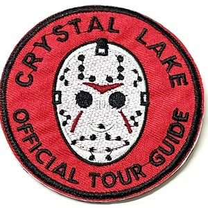 CRYSTAL LAKE official tour guide patch ワッペン パッチ