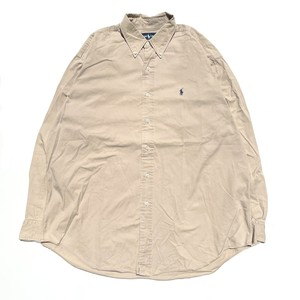 USED Ralph Lauren blake L/S shirts - beige