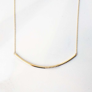 Rock Gold Necklace(N182-YG)