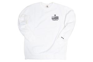 "11/14発売【""USA"" vintage star logo sweat】/ white(3〜4週間後発送予定)"