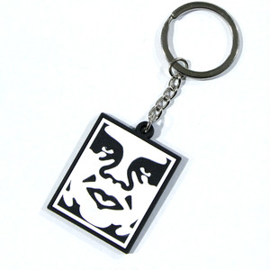 【OBEY】ICON SOFT PVC KEY CHAIN