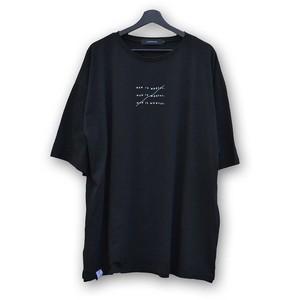 Oversized Cutsew ...MIM... (JFK-036) - Black