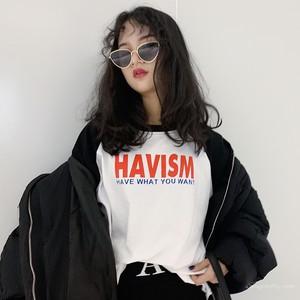【トップス】ファッションアバンギャルドキャンパス合わせやすいTシャツ