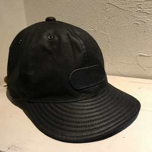 6pannel BB CAP ワックスコットン Black made by @browniecaps