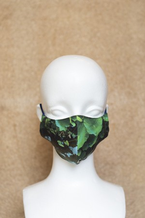 オリジナルマスク 蓮池 反射
