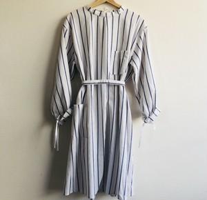 サージカル ガウン Surgical Gown(Blue Stripe) ワンピース 割烹着