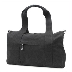 No.6 ARAI SIMPLE BOSTON BAG <BLACK>