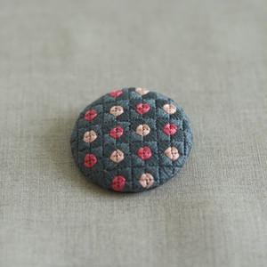 刺繍ブローチ | バラ(コイグレーミックス)