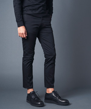 T/C CHINO TAPERED ANCLE NO-P PANTS