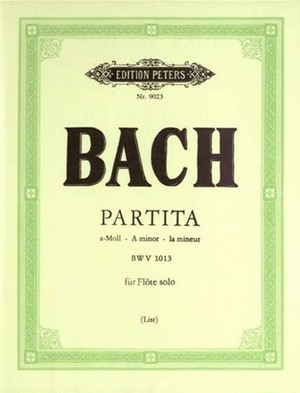 J.S.バッハ:フルートソロのためのパルティータ イ短調 BWV1013/フルート