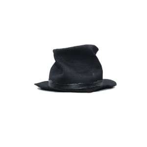 【Your Hat Number】No.844 WAXED RABBIT FUR LEATHER TRIM HAT