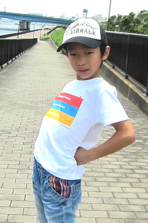 赤パジャマ青パジャマ黄パジャマ キッズ半袖Tシャツ 親子おそろいTシャツ