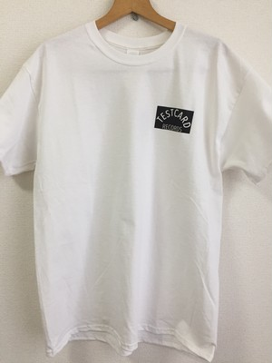 Testcard Records  / Logo T-shirts(GILDAN 6.0oz)