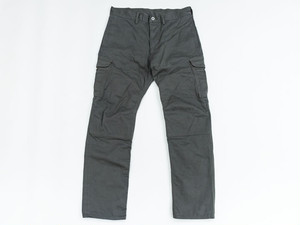 CARGO PANTS -SELVEDGE COTTON- (DARK-OLIVE) / GERUGA