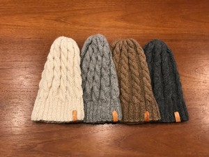 Alpaca Knit Cap 【Short】