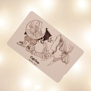 ICカードステッカー(CafeSnap Winter Fantasy)