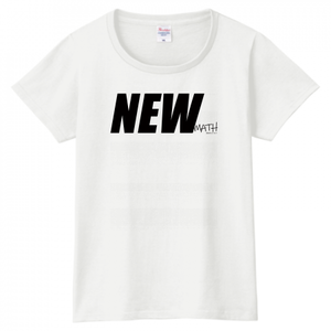 Newmath Logo ladies WHDGY