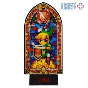 ゼルダの伝説 ステンドグラスデザイン リンク ライト