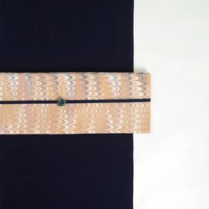 半巾帯 [ 濃卵 × 絹鼠 ]