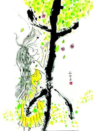 開運!「木火土金水」ポストカードセット(5枚)