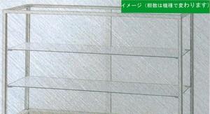 10M25 幅750/高さ285mm 業務用 ガラスケース ショーケース  コレクションケース ディスプレイ用