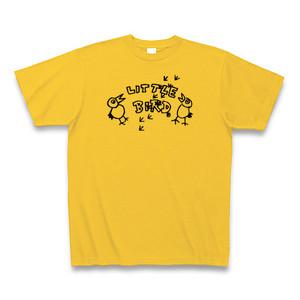 ゴールドイエロー Little Bird NationオリジナルロゴTシャツ